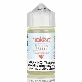 Naked Brain Freeze Straw/Palm 60ml