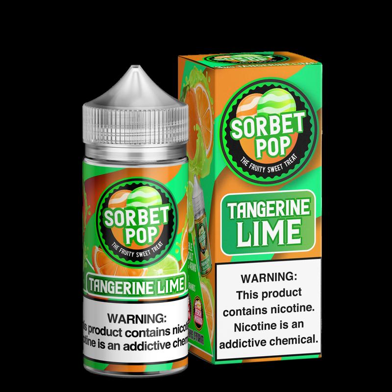 Tangerine Lime by Sorbet Pop 100ml
