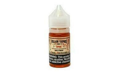 Villain Salts Vanilla Tobacco 30ml/25mg Clearance