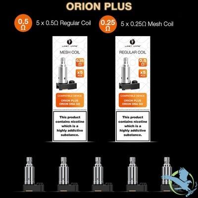Orion Plus Pods/Coils