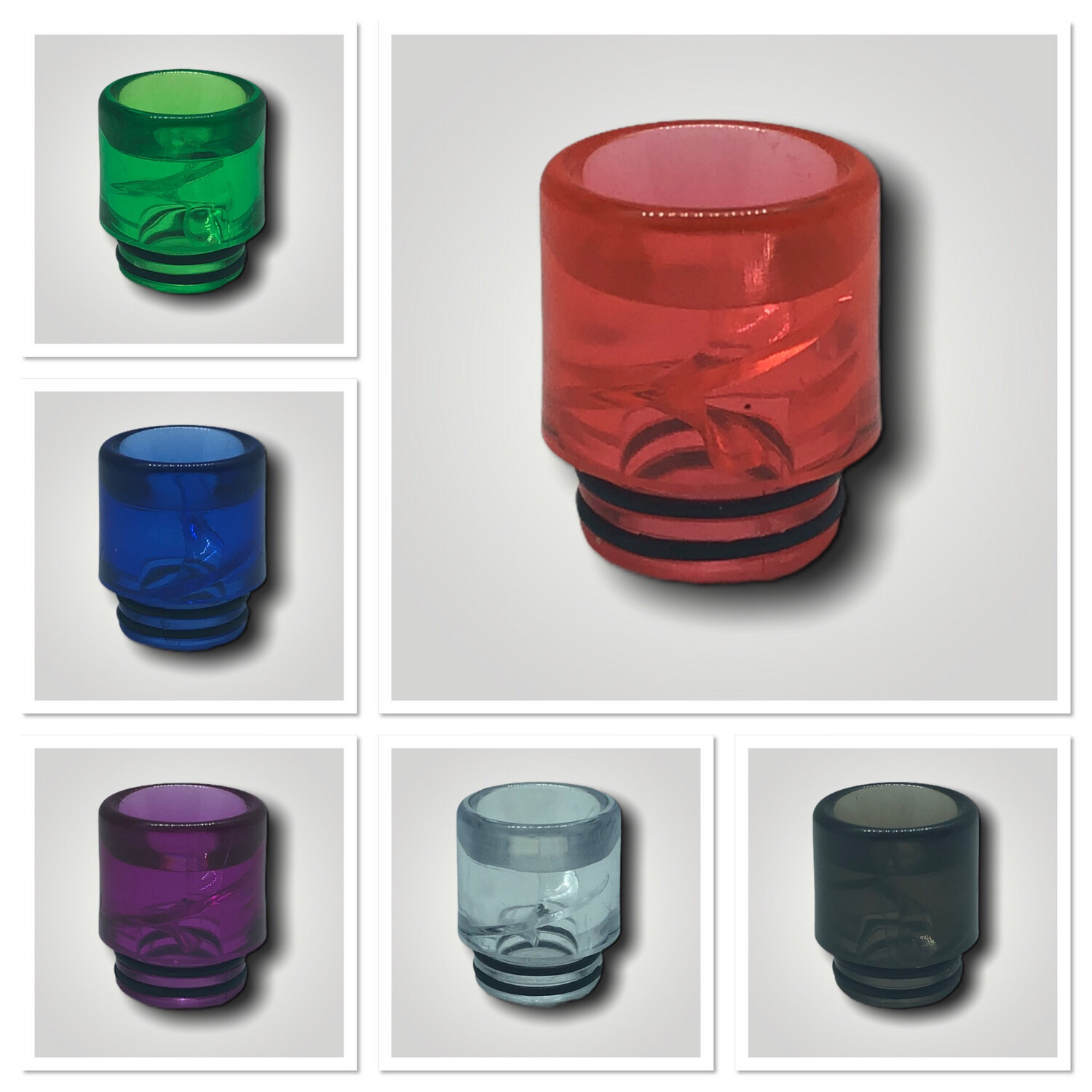Special Drip Tips 810 Clear