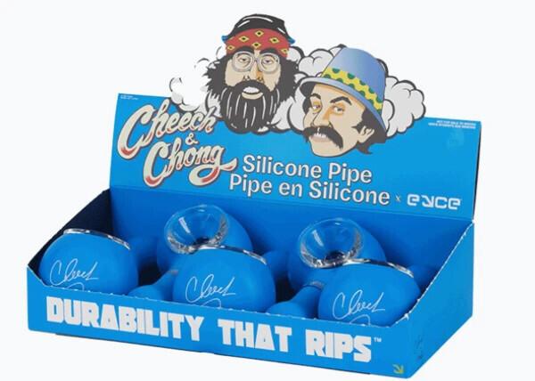 Cheech & Chong Silicone pipes