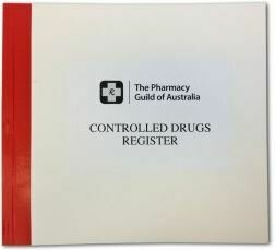 Controlled Drugs Register (250 pages)