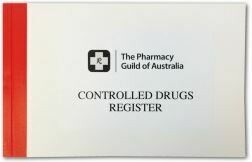 Controlled Drugs Register (100 pages)