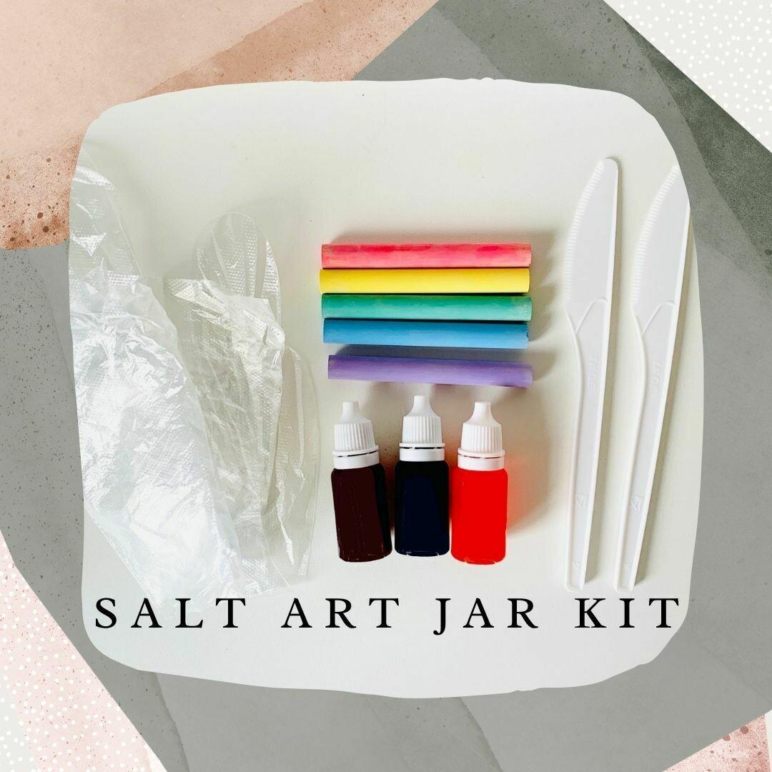 Salt Art Jar Kit