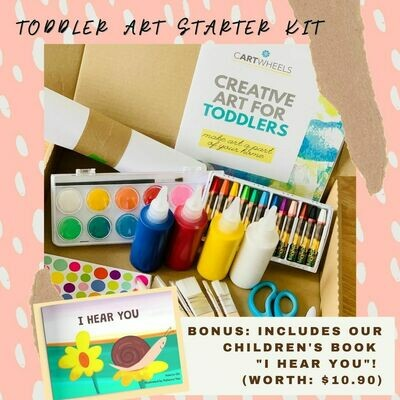 Toddler Art Starter Kit