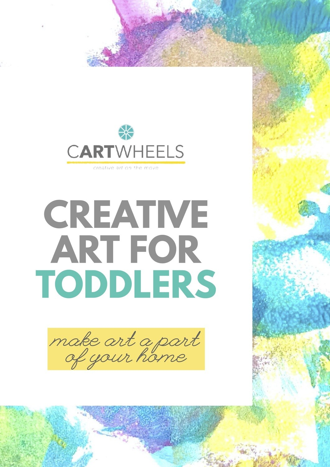 Creative Art for Toddlers (e-book)
