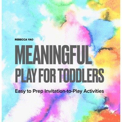 Meaningful Play for Toddlers (e-book)