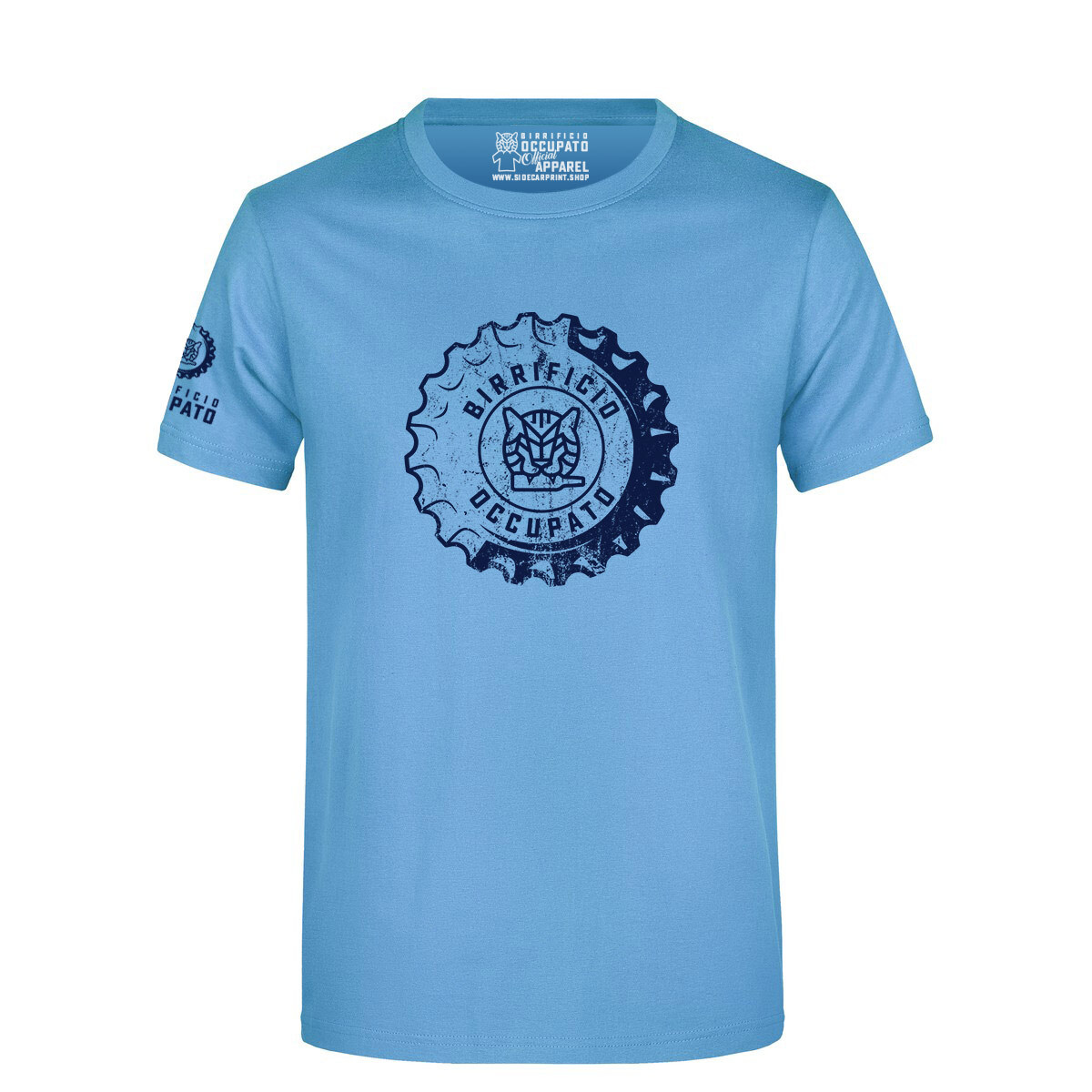 "T-shirt ""Tappone"" Sky Blue - Lim.Ed. Spring 2021"