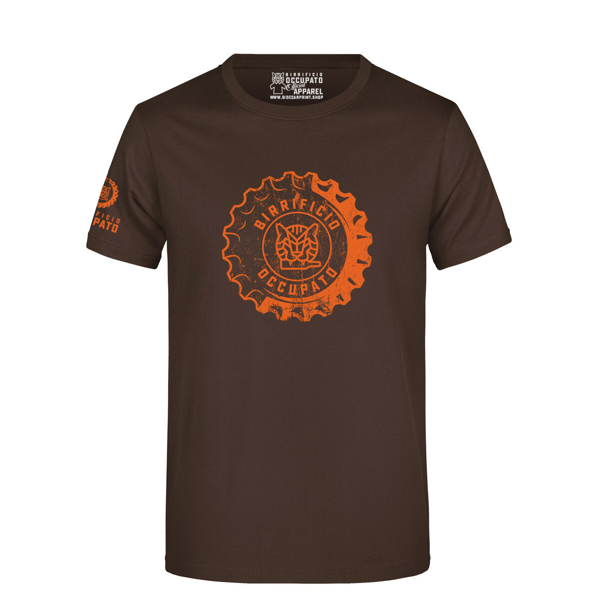 "T-shirt ""Tappone"" Brown - Lim.Ed. Spring 2021"