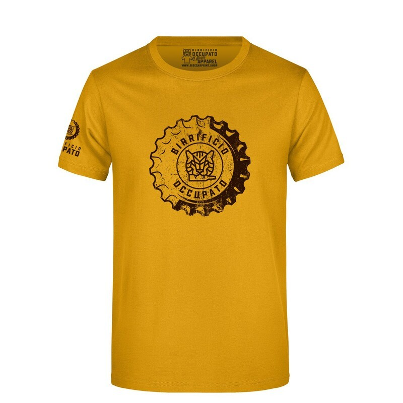"T-shirt ""Tappone"" Gold - Lim.Ed. Spring 2021"