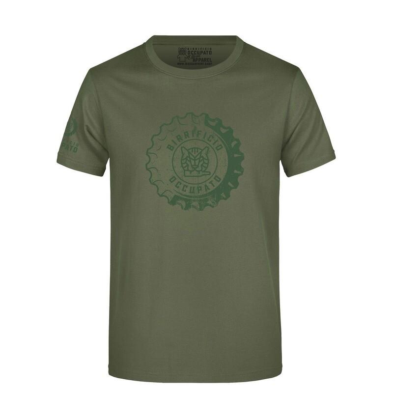 "T-shirt ""Tappone"" Olive - Lim.Ed. Spring 2021"