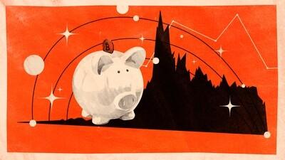 Свинья-копилка криптовалют