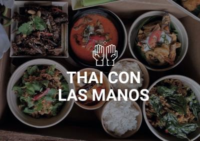 Thai con las Manos