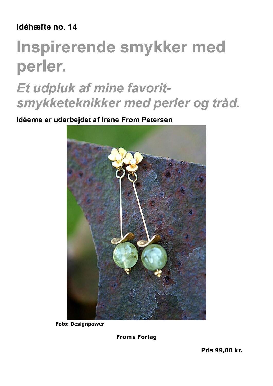 E-bog. Inspirerende smykker med perler. 60 sider. Irene From Petersen
