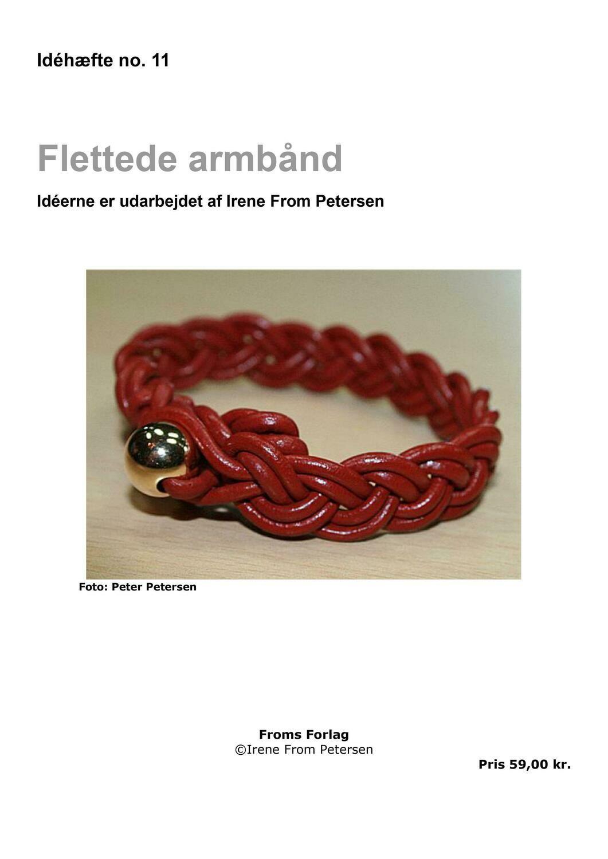E-bog. Flettede armbånd. 40 sider. Irene From Petersen