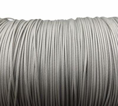 Polyester Knyttesnor. 1,4 mm. Fast. Grå