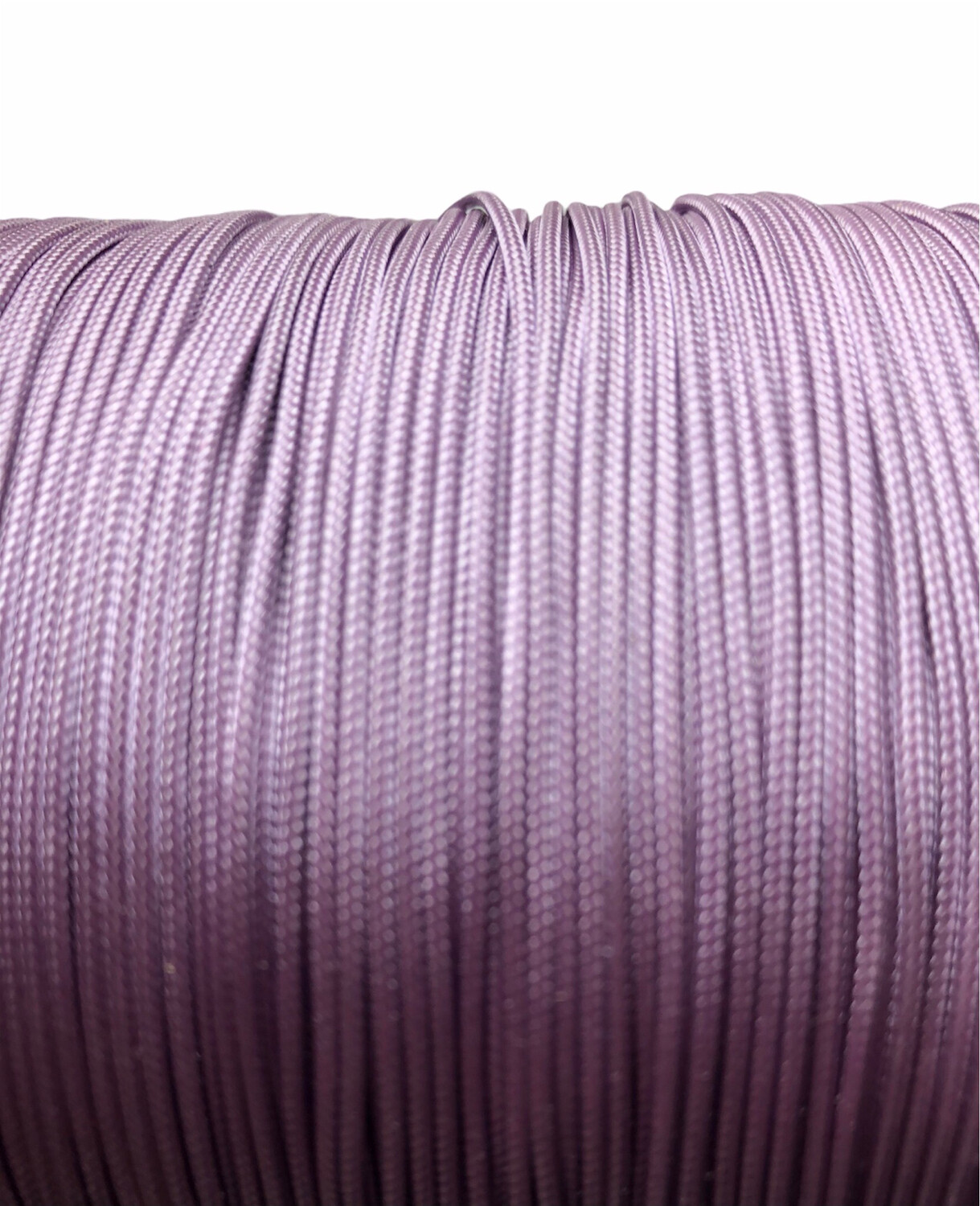 Polyester Knyttesnor 1,4 mm fast. Lys Lilla 10 m