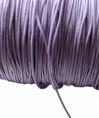 Polyester snor. 0,8 mm. Lys Lilla 100 m