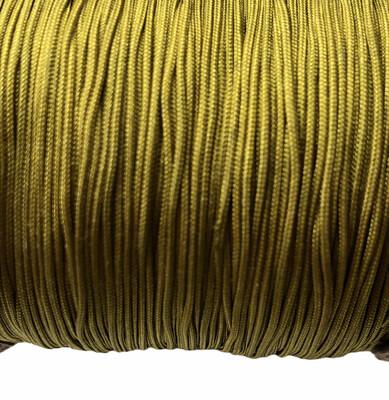 Polyester Snor. 0,8 mm. Grøn/oliven