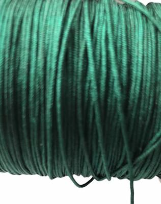Polyester Snor. ca 1 mm. Mørke grøn ca 50 m
