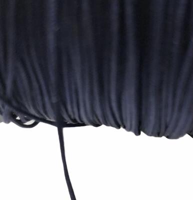 Polyester snor. 0,8 mm. Mørkeblå. 100 m