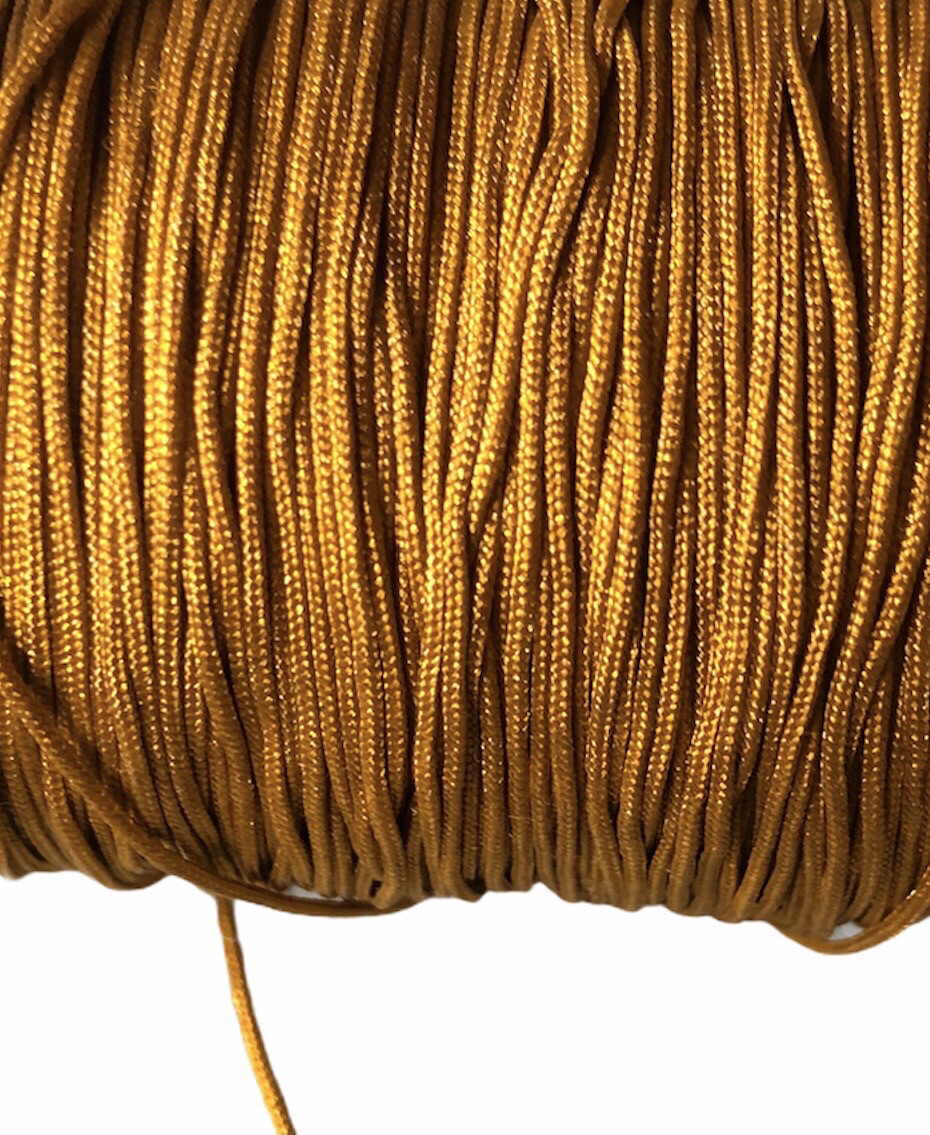Polyester snor 1 mm. Karry ca. 50 m