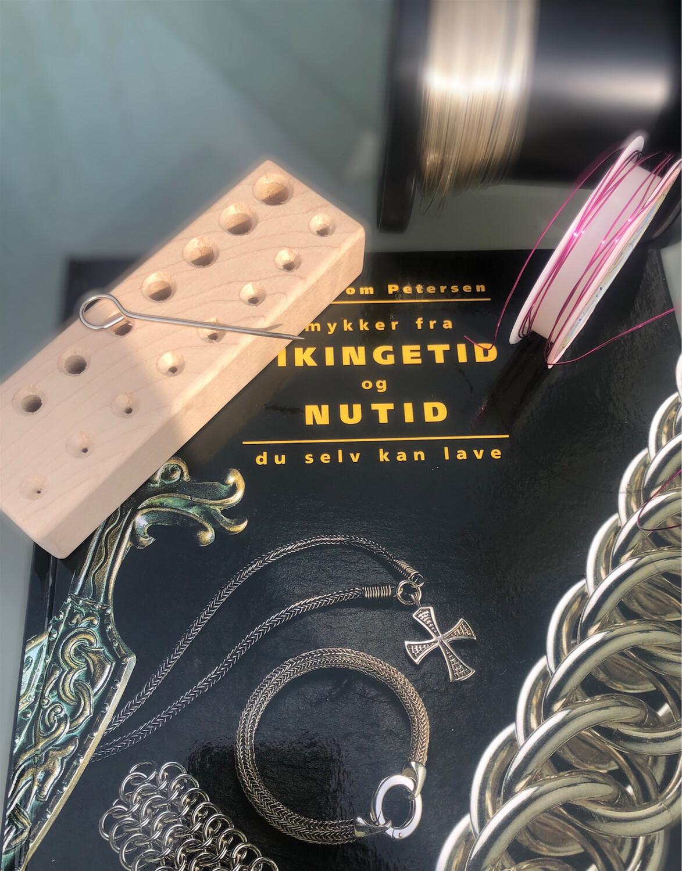 Startsæt Til Vikingestrik. Materialer til 1 armbånd