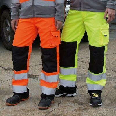 BW 4Work Pantaloni Cargo Reflect Unisex