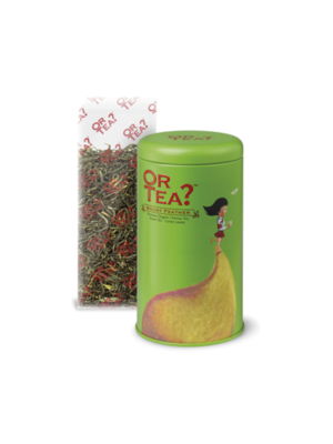 Groene thee tin canister - Chinese groene thee