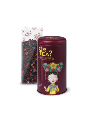 Queen berry tin canister - Rode vruchten infusie thee
