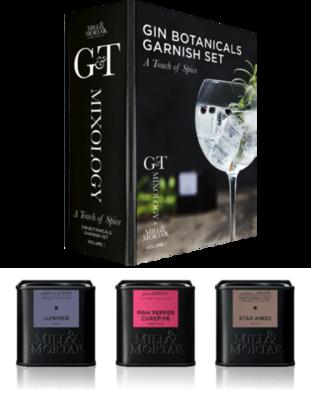 Gin Botanicals Garish set - Mixology Vol.1 - A Touch of Spice