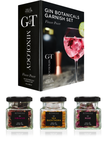 Gin Botanicals Garish set - Mixology Vol.2 - Flower Power