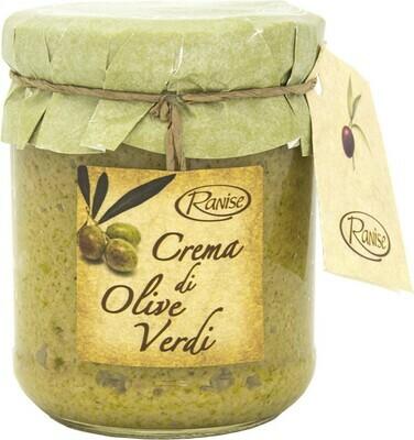 tapenade groene olijven - CREMA DI OLIVE VERDI