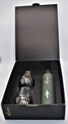 Box zwarte doos Olive Gin 'Green' |  kruidig