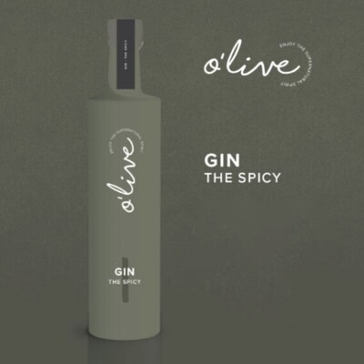 Olive Gin 'green' THE SPICY