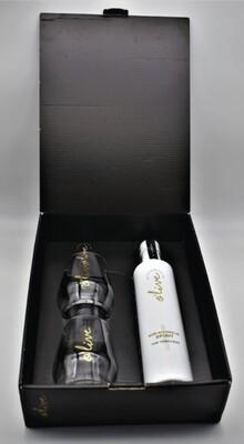 Box zwarte doos Olive Gin 'white' THE INNOCENT |  niet alcoholisch