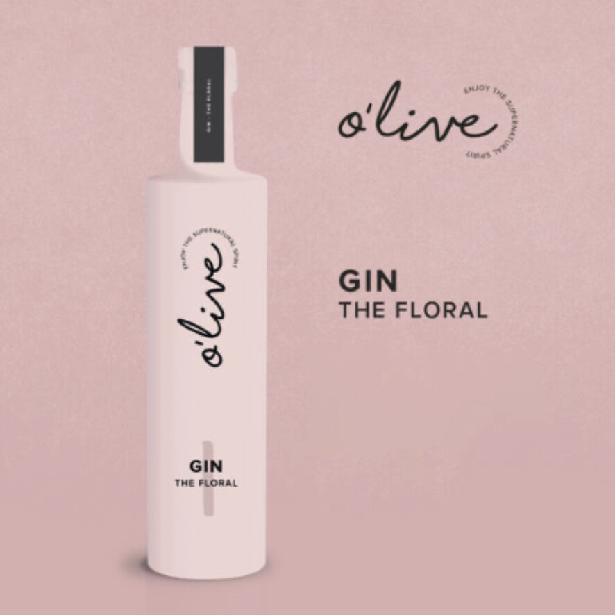 Olive Gin 'pink' THE FLORAL
