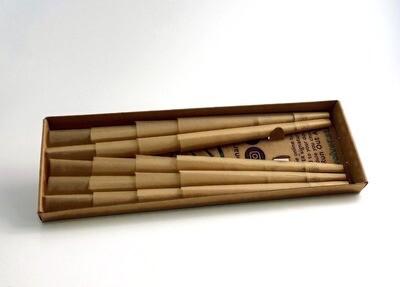 20 Wood Pulp Cones