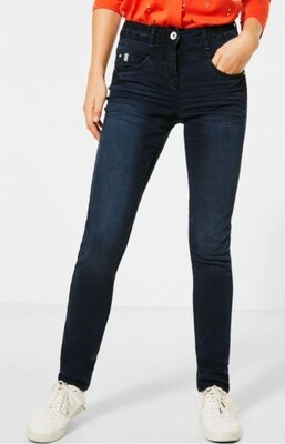 B373434 dark blue used wash