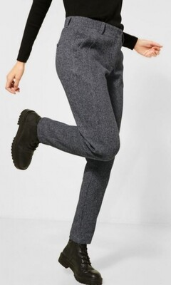 B373610 middle grey melange
