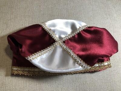 Oyá/Obatalá Elegant Battle Hat