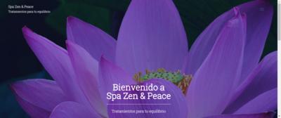 """Sitio Web Multipágina Modelo """"Spa"""""""