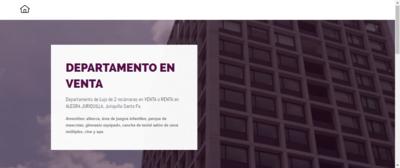 """Página Web Modelo """"Venta Directa"""""""