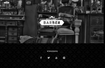 """Sitio Web Multipágina Modelo """"Barbershop"""""""