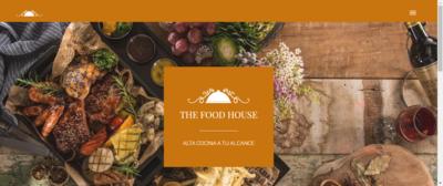 "Sitio Web Multipágina Modelo ""Restaurante"""
