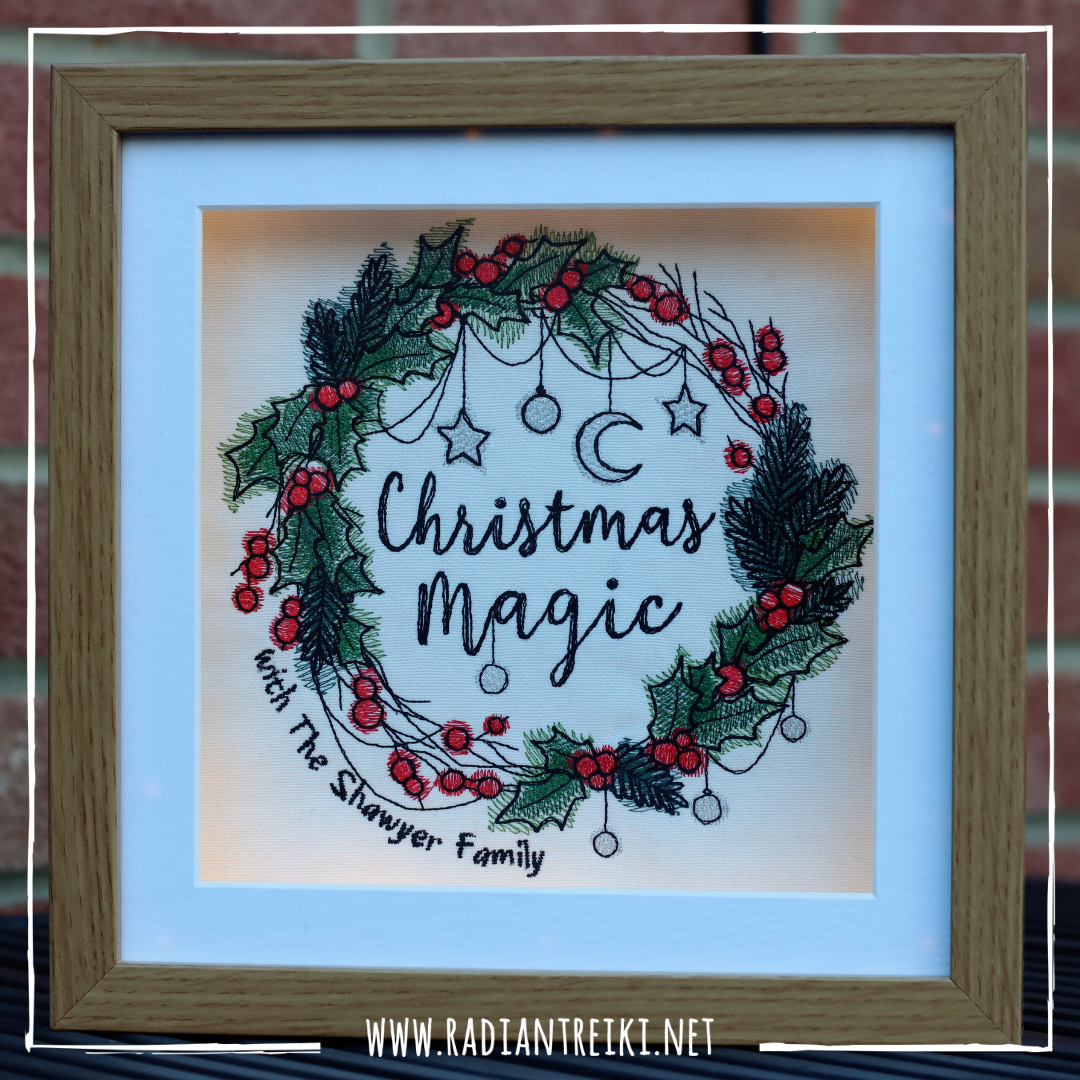 Christmas Embroidery Made to Order