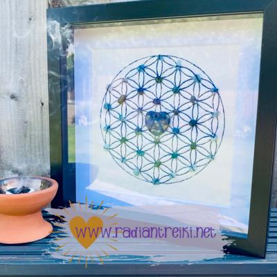 Personalised Crystal Grid