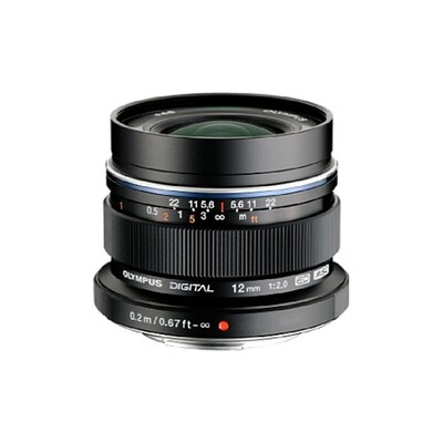 Olympus M.Zuiko 12mm 2.0 ED (black)