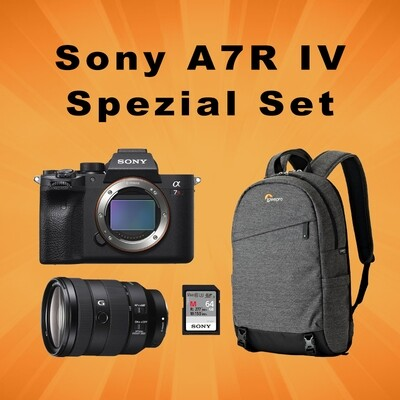 Sony A7R Mark IV Spezial Set
